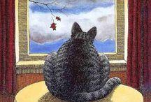 Cat Art / by Jennifer Winkler