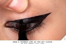 How to draw cat eyeliner