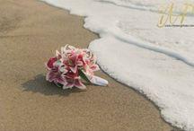 Beach wedding / Bouquet