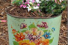 baldes pintados