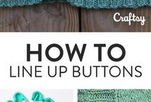 How to line up buttons