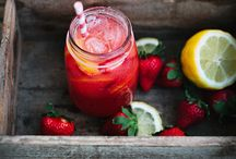 Cold drinks / Food photography