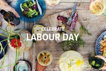 Celebrate Labour Day / This Labour Day weekend, why not soak up the sunshine with a fun backyard celebration? It's the perfect time to enjoy some classics, from recipes to games. But, with the sun still shining, it's also the perfect time to serve up some refreshing flavours from near and far.