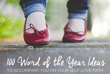 2016 One Word | Wellness & Thrive