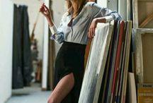 Une femme est une femme / Ideas for woman fashion photo shoot