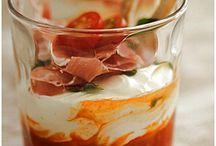 salades et verrines