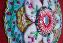crafts - shisha embroidery/mirrors / by Janet Finn