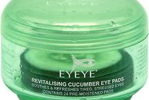 Eyeye revitalising cucumber eye pads / Revitalising cucumber eye pads
