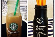 diy pencil holders / by strawberry