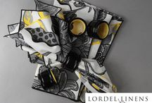 Sunshine in a Gray World / Decorating with Yellow, Black and Gray