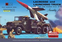 Vintage plastic model kits