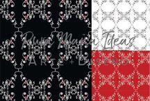 """Diseños TEXTILES """"ACERTIJOS"""" / Diseños textiles exclusivos de PURA MAÑA IDEAS, de la línea """"ACERTIJOS"""". Dibujos que nacen de distintas frases y formas."""