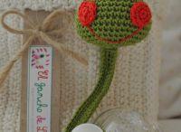 ~ Crochet pacifier clip ~