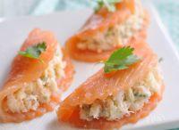 salmon, fish
