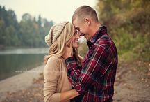 Fall couple photos