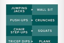 Workouts // HIIT, Cardio, Circuit, Full body