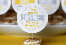 You are my sunshine theme party