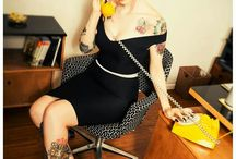 rockabilly style/pin up/vintage/petticoat