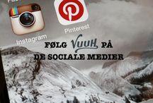 Vuuh på sociale medier / Følg os Instagram, Facebook og Twitter..  og her på Pinterest selvfølgelig!  Du kan også lige smide en kommentar eller et like - det er så dejligt at høre fra jer! ;-)