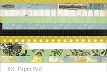 Paper Craft Products I Need / Paper lines and embellishments found along the way / by Susan Killam