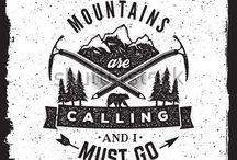 Tatouages Mountains / Trail