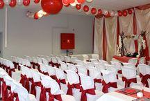 Décoration cérémonie laïque / Décoration d'une cérémonie laïque pour un mariage.
