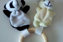Anneaux pour bébé / Ateliers en tout genre effectués avec les enfants - anneaux pour bébé - jouet montessori