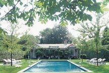 Pool water garden
