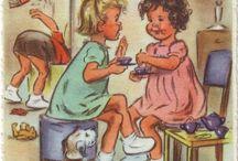 Les enfants chéris ♡ A transférer, imprimer, coudre, broder et + encore * Kids / Pour des idées déco autour de l'enfance chérie
