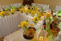 MONIKA dekoracje okolicznościowe / dekoracje weselne , ślubne, okolicznościowe, dekoracje sal weselnych, dekoracje kościoła, wedding decorations, decoration of the church,