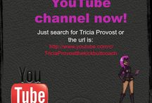 The Kick Butt Coach - YouTube Channel / Videos on creating the Life of your dreams, by online life coach Tricia Provost aka The Kick Butt Coach.
