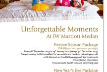 Year - End Offers 2013 / Special offers, promotions and events on year-end of 2013 at JW Marriott Medan, Indonesia
