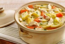 Hearty Chicken Soups