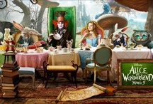 Alice In Wonder Tablesetting / by Debby Anderson