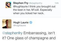 Stephen and Hugh :-)