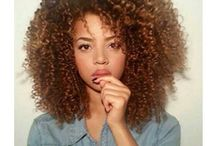 Curly and natural hair / Sexy curly and  natural hair
