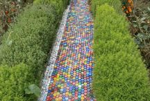 Recycled garden