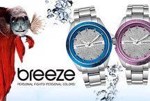 Εντυπωσιακά ρολόγια BREEZE για όλες τις ώρες!