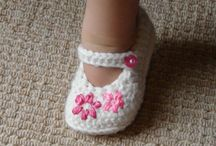 Crochet slippers/booties / by Lisa Gagas