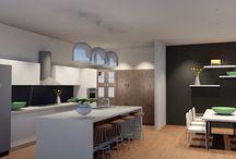 Kitchen Design / 3D Archicad Renders