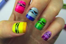 Some pretty nails ideas... / ...i probably won't even realize them...but...whatever, doesn't matter.