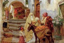 vendedor arabe