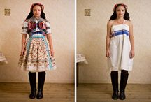 FASHION: Underneath a Kroj / Folk fashion, textiles