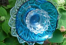 Glass art for the garden / by Sharon Will Headley