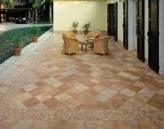 Pool/Patio/Deck / We live in paradise in the Bahamas so why not create the perfect outdoor entertaining area with easy maintenance tiles? Also features slip resistant tiles for residential or commercial spaces
