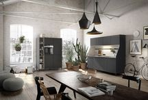 SieMatic Urban Kitchen Design / With a careful balance of modern industrial and inner city living, the SieMatic Urban range focuses on functionality and practicality with a unique sense of design and aesthetic flair.