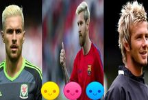 Footballer's Fantastic Blonde  Hairstyle