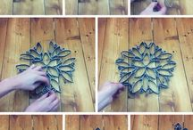 Tolet paper christmas star