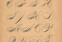 каллиграфия и леттеринг