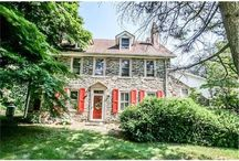 Kennett Square / New Listing! New Listing! MLS# 6414544  Stunning 19th Century house on 5 lush acres, beautiful lawns, meadows and garden style pool with courtyard.